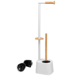 bremermann WC-Garnitur 3in1 inkl. Rollenhalter,...