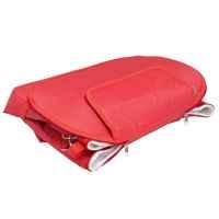 bremermann Kühltasche faltbar, Isoliertasche Picknicktasche 35 Liter Volumen rot