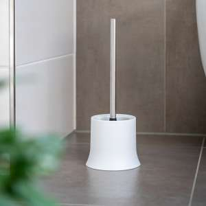 bremermann WC-Bürstenhalter, Kunststoff, weiß, WC-Garnitur, Toilettenbürstenhalter