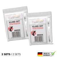 bremermann 2er Klebe-Set für Klebe-Montage von Bad-Accessoires PIAZZA & LUCENTE Klebesystem