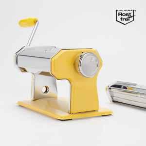 bremermann Nudelmaschine Edelstahl/Metall gelb - für...