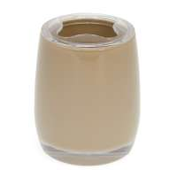 bremermann Bad-Serie SAVONA Zahnbürstenbehälter aus Kunststoff, cappuccino-braun
