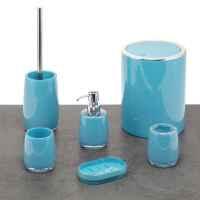 bremermann Bad-Serie SAVONA Zahnbürstenbehälter aus Kunststoff, blau