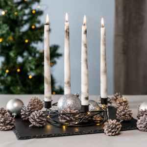 bremermann Kerzenhalter – Kranzform, für...