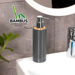 bremermann Seifenspender SEGNO aus Bambus und Kunststoff...