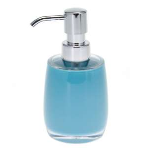 bremermann Bad-Serie SAVONA - Seifenspender aus Kunststoff, blau