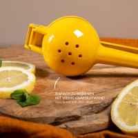 bremermann Zitronenpresse // aus Zink // für bis zu ca. Ø 7 cm große Zitrusfrüchte