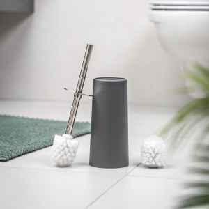 bremermann WC-Bürste Kunststoff, Standbürste grau