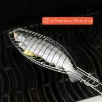 bremermann Fischgriller, klappbarer Griff // Fischbräter