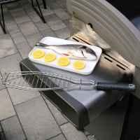 bremermann Fisch-Grillhalter 2er Set Fischhalter, Fischgriller, Fischbräter