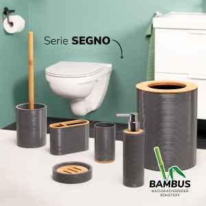 bremermann 6tlg. Bad-Set SEGNO // mit WC-Bürste...