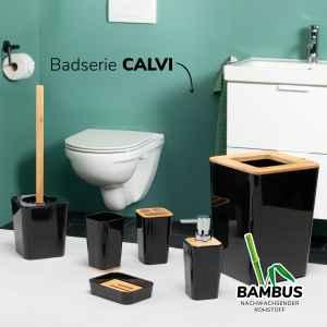 bremermann 6tlg. Bad-Set CALVI // mit WC-Bürste...