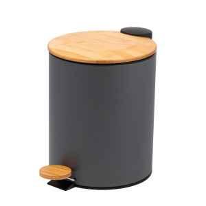 bremermann Mülleimer mit Bambus-Deckel,...
