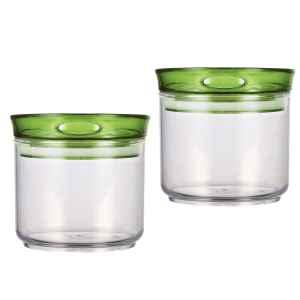 bremermann Vorratsdose 2er Set, grün, 450 ml Inhalt