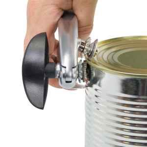 bremermann Dosenöffner, Zinklegierung, Softtouch-Griffe