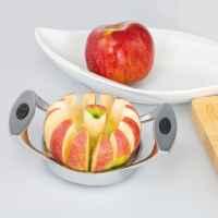 bremermann Apfel- und Birnenschneider, Zinklegierung, Softtouch-Griffe