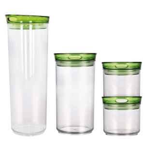 bremermann Vorratsdosen Set Basic, grün