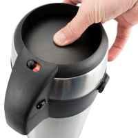 bremermann Pumpkanne Airpot Isolierkanne Thermokanne Getränkespender, Edelstahl (3 Liter)